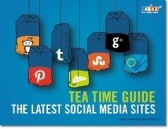 Tea Time Guide: The Latest Social Media Sites [SLIDESHARE] | Marketing | Scoop.it