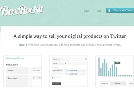 Vender y promocionar productos en Twitter con BoxRockit | 2.0, Social Media y Marketing Online | Scoop.it