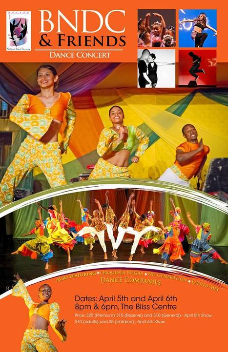 Mark your Calendars - April 5th and 6th -     The Belize Dance Company is having a Dance Concert | Travel - Things to do in Belize | Scoop.it
