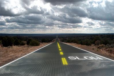 De nouvelles routes sans goudron - écologiques & intelligentes | Construire le monde de demain | Scoop.it