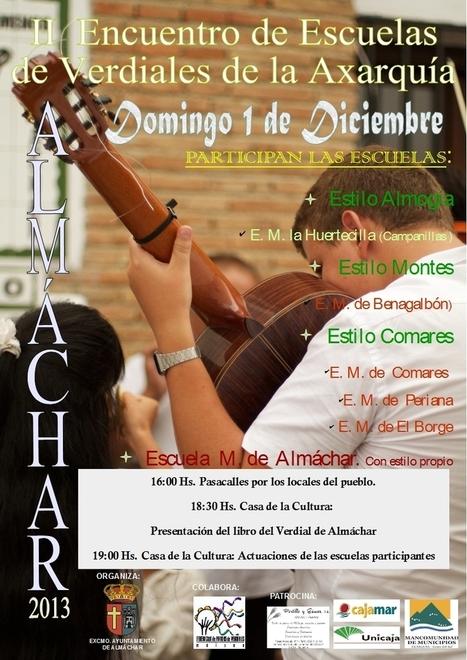 Escuelas de Verdiales de la Axarquía - Almáchar -1 de Diciembre | Cosas de mi Tierra | Scoop.it