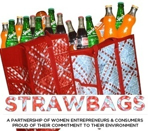 Recycled Straws? Strawbags helps to support Ugandan women and children! | RECYCLED ART, PRODUCTS AND THINGS | Scoop.it