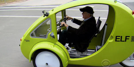 A look at ELF, the solar-powered bicycle-car hybrid | Low Power Heads Up Display | Scoop.it