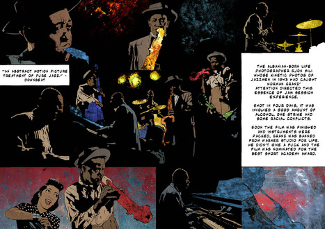 Five Jazz Films, Illustrated | Keyframe - Explore the world of film. | Jazz Plus | Scoop.it