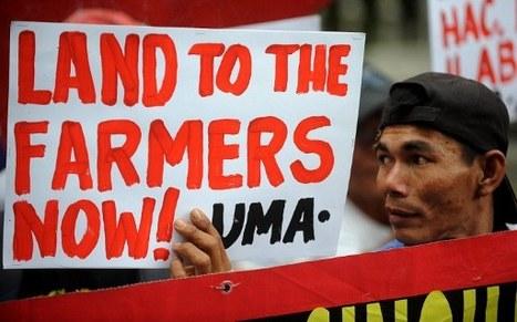 Les paysans philippins font le siège de la présidence pour une meilleure distribution des terres | Questions de développement ... | Scoop.it