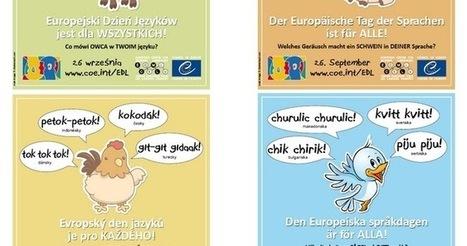 Europa im DaF-Unterricht : E-Cards zum Europäischen Tag der Sprachen | Deutsch lehren | Scoop.it