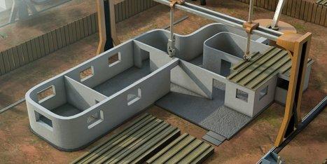 Cette imprimante 3D peut construire une maison en 24h (17/01/2014) | Actualités interessantes | Scoop.it