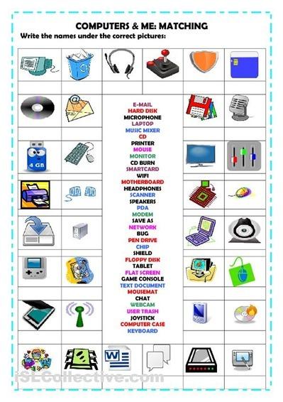 ESL Computers - Vocabulary, Exercises, Tutorials | Computer Classes @ VU College | Scoop.it