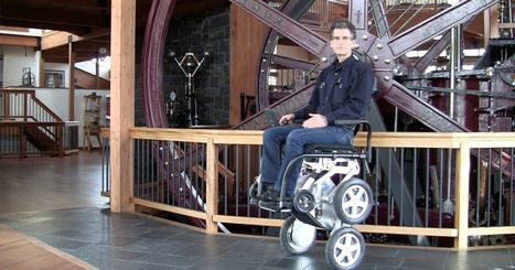Toyota is bringing back Dean Kamen's stair-climbing wheelchair | Heron | Scoop.it