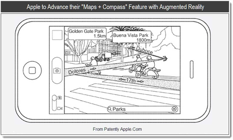 Augmented Reality Maps and Directions Coming to iPhone | In the eye of the new world | Scoop.it