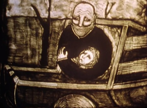 "Watch Goethe's Haunting Poem, ""Der Erlkönig,"" Presented in a Stellar Sand Animation 