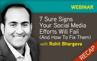 Radian6 Webinar: 7 Sure Signs Your Social Media Strategy Will Fail ... | Social Media Article Sharing | Scoop.it