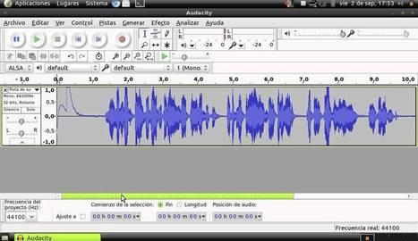 Curso Edición de Audio: CLASE AUDACITY 01 | EDUDIARI 2.0 DE jluisbloc | Scoop.it