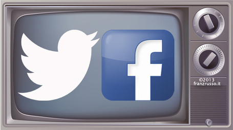 Social Tv, durante le feste bene MasterChef su Facebook e Otto e Mezzo su Twitter | Social Media (network, technology, blog, community, virtual reality, etc...) | Scoop.it
