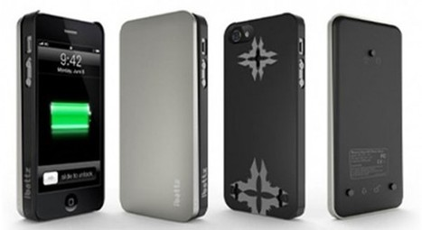 Mojo Hi5.. adds a removable extra battery to your iPhone 5 | Tech Gadgetry | Scoop.it