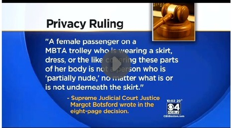 Mass. High Court: Subway Upskirt Photos Not Illegal - CBS Boston | xposing world of Photography & Design | Scoop.it