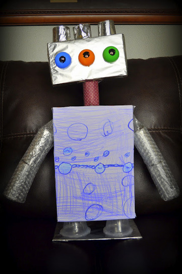I HEART CRAFTY THINGS: Building a Robot | Jardim de Infância | Scoop.it