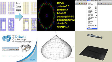 Download some best free sketchup drawing tools | 3d information 2013 | Scoop.it