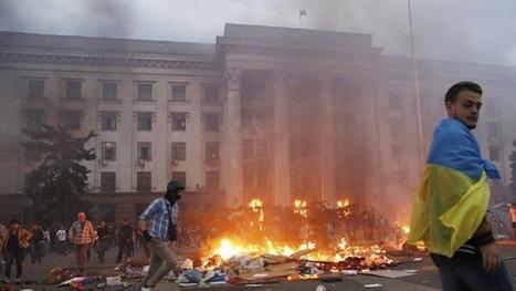 EU GOES TO HAGUE? »» Ucrania: 38 personas mueren en Odesa en un edificio incendiado por el Sector Derecho | Saif al Islam | Scoop.it