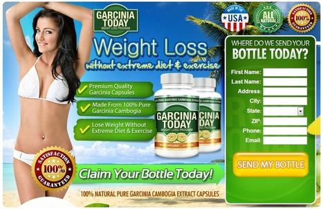 Garcinia Cambogia Today Review – Get Your Free Trial Online! | Today do the weight loss job for you! | Scoop.it