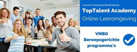 VMBO Beroepsgerichte profielen. Gepersonaliseerde leeromgeving. | E-learning, Blended learning, Apps en Tools in het Onderwijs | Scoop.it