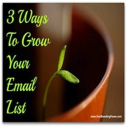 Grow Your Email List | Social Media Today | SocialMesh | Scoop.it