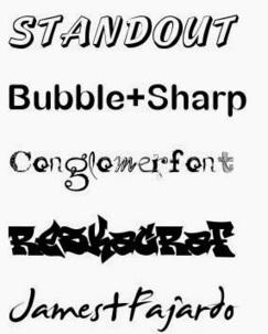 En la nube TIC: Tipografías diferentes para tus proyectos | APRENDIZAJE | Scoop.it