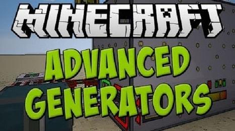 Advanced Generators Mod 1.10.2 | Jenyfer grabar | Scoop.it
