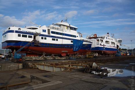 Bretagne - Finistère :  au chantier naval 1 (4 photos) | photo en Bretagne - Finistère | Scoop.it