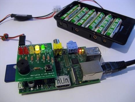 Raspberry Pi AA Battery Shoot-out   Raspberry Pi Spy   Arduino, Netduino, Rasperry Pi!   Scoop.it