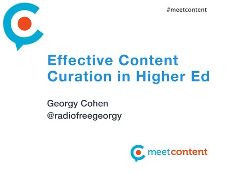 Effective Content Curation in Higher Ed | Content Curation for Online Education | Scoop.it