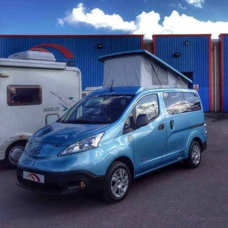 British Firm Turns Nissan e-NV200 Electric Van Into Cosy, Family-Friendly Camper Van | VW Camper and Bug | Scoop.it