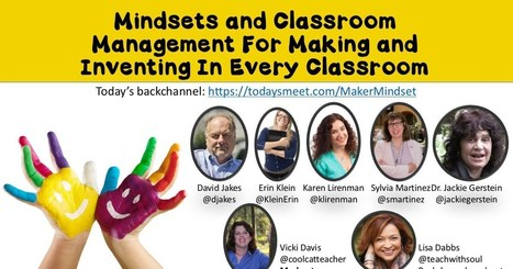 #iste2016 Mindsets and Classroom Management for Making and Inventing in Every Classroom | Durff | Scoop.it