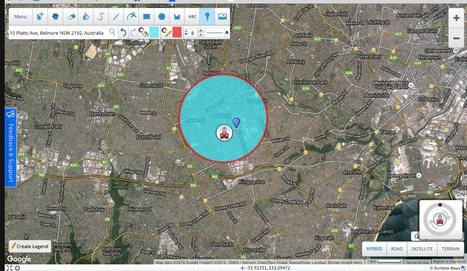 Draw On Maps and Make Them Easily.Fromwww.scribblemaps.com-Today   History and Geography Sites for ES1 & S1 teachers - NSW Curriculum   Scoop.it
