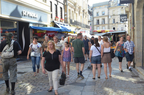 Alençon. Les piétons du centre-ville vont être comptés | Le Mag ornais.fr | Scoop.it