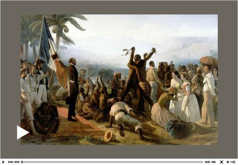 Animation - La Deuxième République abolit l'esclavage - L'Histoire par l'image | GenealoNet | Scoop.it