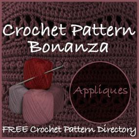 Free Applique Crochet Patterns | Free Crochet Patterns | Scoop.it