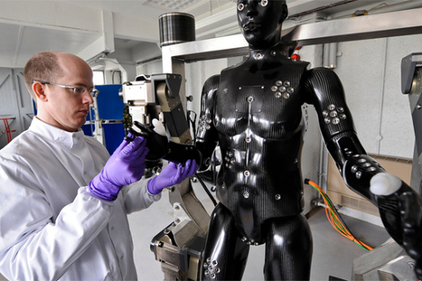 "Military ""CRASH test DUMMY"" takes hard knocks to develop protective gear 