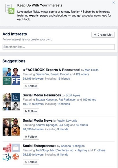 Quick Reference Guide for Facebook Marketers | Marketing & Webmarketing | Scoop.it