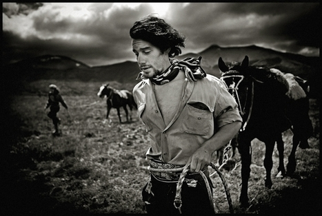 Portraits of Patagonian Cowboys | Photographer: Mustafah Abdulaziz for National Geographic | BLACK AND WHITE | Scoop.it