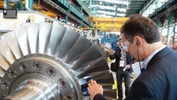 French economy minister Emmanuel Macron launches GE 9HA gas turbine - Oxford Prospect | Power Generation Today | Scoop.it