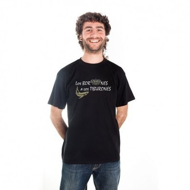 "Camiseta ""Los Borbones a los Tiburones"" - VisualGrafik | VisualGrafik | Scoop.it"