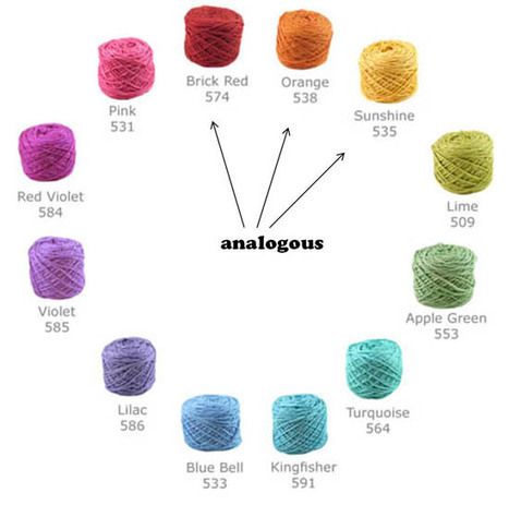 Color Theory 101: selecting yarns that go together | Quilting Tools and Supplies | Scoop.it