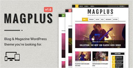 MagPlus - Blog & Magazine WordPress Theme - WordpressThemeDB | WordpressThemeDatabase | Scoop.it