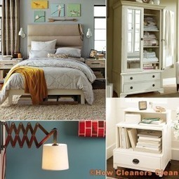 How to make a small bedroom look bigger | How Cleaners Clean | home | Scoop.it