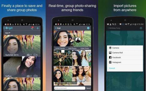 Orgit: app con almacenamiento ilimitado para compartir fotos y vídeos | TIC | Scoop.it