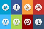 Social Media Colors - Tammy Hart Designs | Paperpixel Web dev | Scoop.it