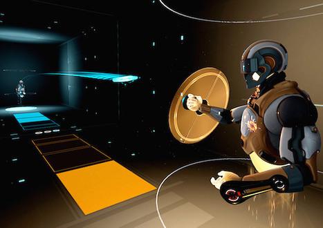 Un ping pong futuriste intergalactique en réalité augmentée avec un casque VR | ping pong 44 | Scoop.it