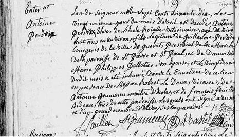 Le 21 avril 1770, enterrement d'un Élève Vétérinaire | CGMA Généalogie | Scoop.it