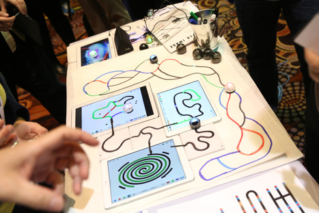 "Ozobot's Tiny Robots Use Squiggly Lines And Google's Blockly To Teach Kids To Code | Nicole Laura's ""Biblio-Files"" 